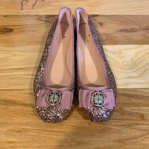 Kate Spade women's Fontana too glitter ballet flat